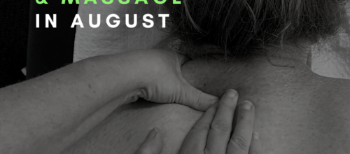 25% off Myotherapy and Massage in August!
